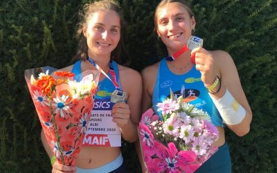 Deux podiums au France Elites-Espoirs à Albi
